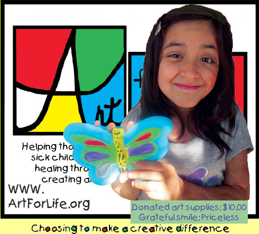 Every day amazing kids in our programs create art that inspires healing in themselves and those around them.