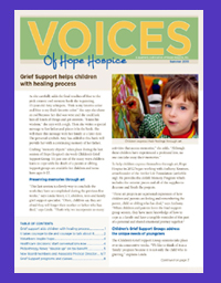 Art for Life featured in Voices publication.